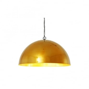 STOCKHOLM - Scandinavian Ceiling Pendant In Powder Coated Gold