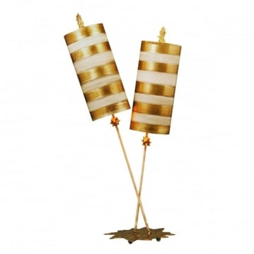 NETTLE - Luxe Gold Table Lamp