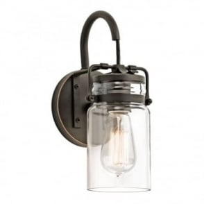 BRINLEY - 1 Light Wall Light