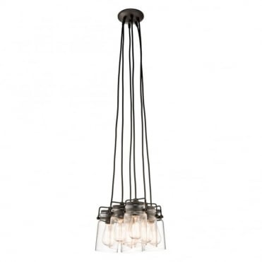 BRINLEY - 6 Light Ceiling Pendant
