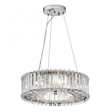 CRYSTAL - Skye 6 Light Ceiling Pendant