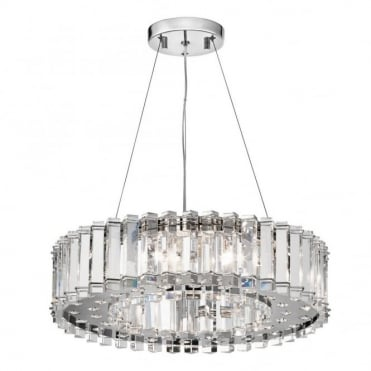 CRYSTAL - Skye 8 Light Chandelier