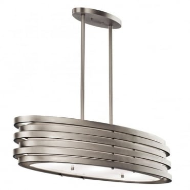 ROSWELL - Oval Island Ceiling Pendant