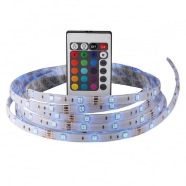 NIMBA 3M RGB - LED Flexible Strip Lights with Colour Changing, Dimmable with Remote