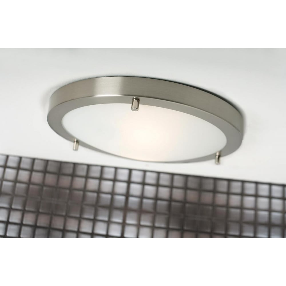 ANCONA LED MAXI Flush Bathroom Ceiling Light Lighting