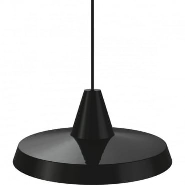 ANNIVERSARY - Sleek Retro Ceiling Pendant Black