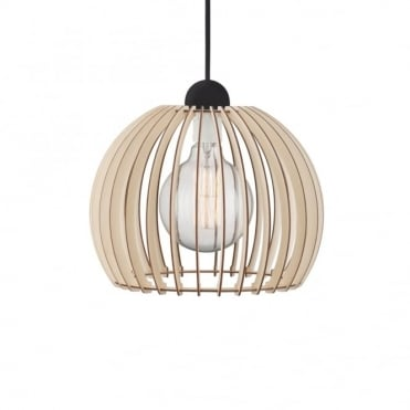 CHINO 30 - Ceiling Pendant in Slatted Wood