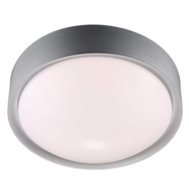 COVER LED - Flush Ceiling Light Grey