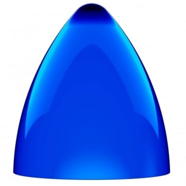 FUNK large blue pendant light shade (part of a set)