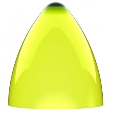 FUNK large lime green pendant light shade (part of a set)