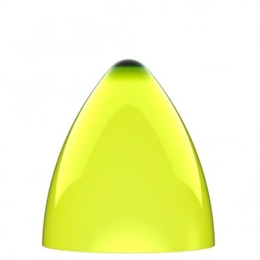 FUNK lime green pendant light shade (part of a set)