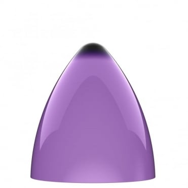 FUNK purple pendant light shade (part of a set)