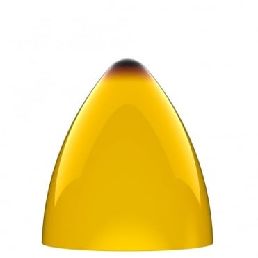 FUNK yellow pendant light shade (part of a set)