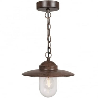 LUXEMBOURG - Traditional Ceiling Pendant Brown