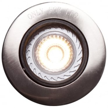 MIXIT - Recessed Ceiling Spotlight Pro built-in Brushed Steel