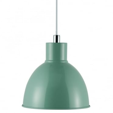 POP - Retro Metal Ceiling Pendant in Green