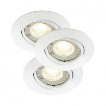 TRITON LED COB - Dimmable White Recessed Ceiling Spot Light