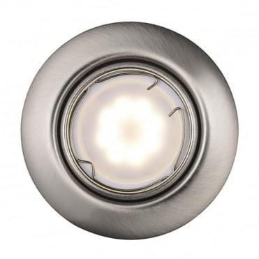 TRITON LED SMD  - Brushed Steel Recessed Ceiling Spot Light