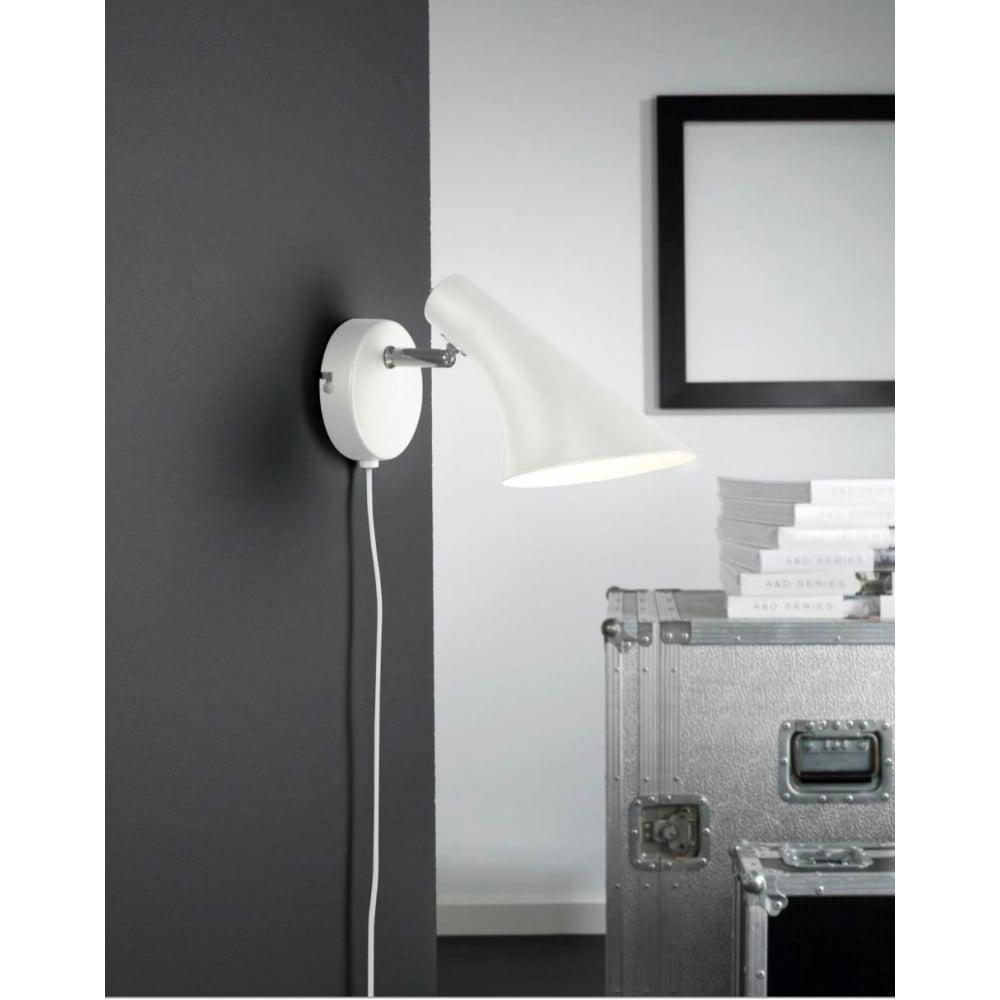 VANILA - Modern Wall Light White - Lighting and Lights UK
