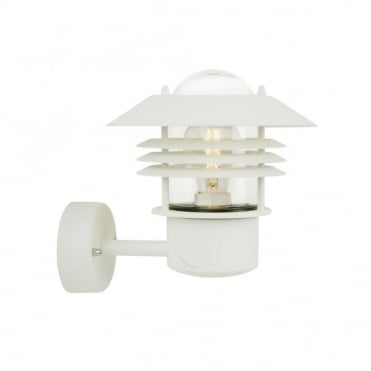 VEJERS - Modern Exterior Wall Light White