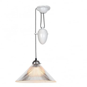 COOLIE - Prismatic Rise And Fall Ceiling Pendant Light