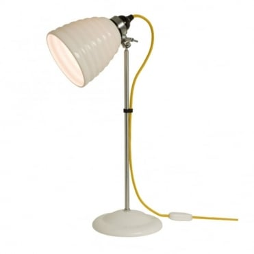 HECTOR - Bibendum Table Light White With Yellow Cable