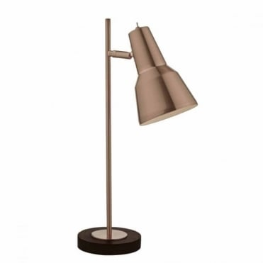 OSNABRUCK - Brushed Copper Task Lamp with Black