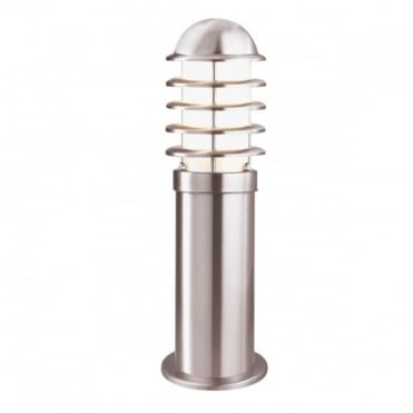OUTDOOR - Exterior Post Lamp Stainless Steel 45Cm