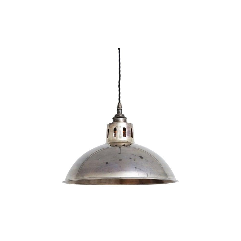 Antique silver industrial ceiling pendant lighting and lights uk paris vintage brass ceiling pendant light in antique silver mozeypictures Choice Image