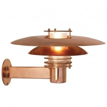 PHOENIX - Exterior Wall Light Copper