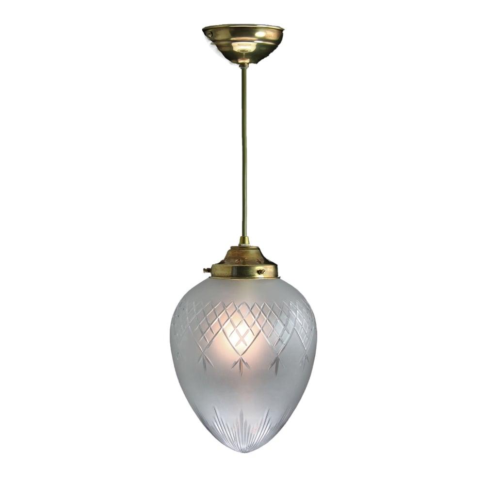 PINESTAR Medium Clear Glass Victorian or Edwardian Ceiling Pendant Distressed Brass  sc 1 st  Lighting and Lights! & Medium Clear Glass Victorian Edwardian Ceiling Pendant Distress Brass
