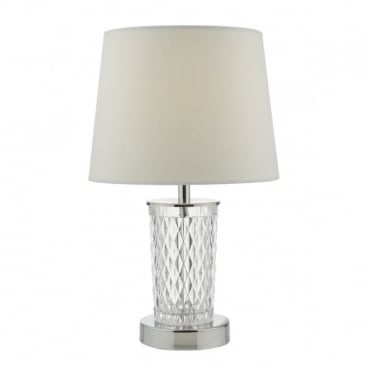 PIXIE - Clear C/W Shade Table Lamp