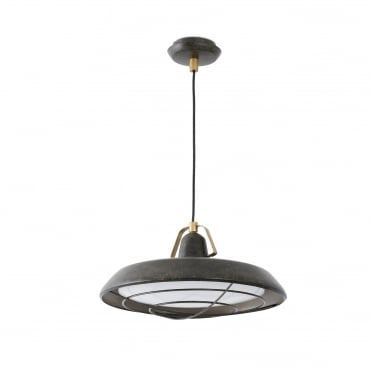 PLEC LED OLD BROWN Ceiling IP44 for Bathrooms or Porches
