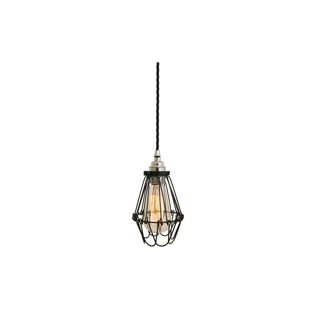industrial styled black ceiling pendant light lighting and lights uk