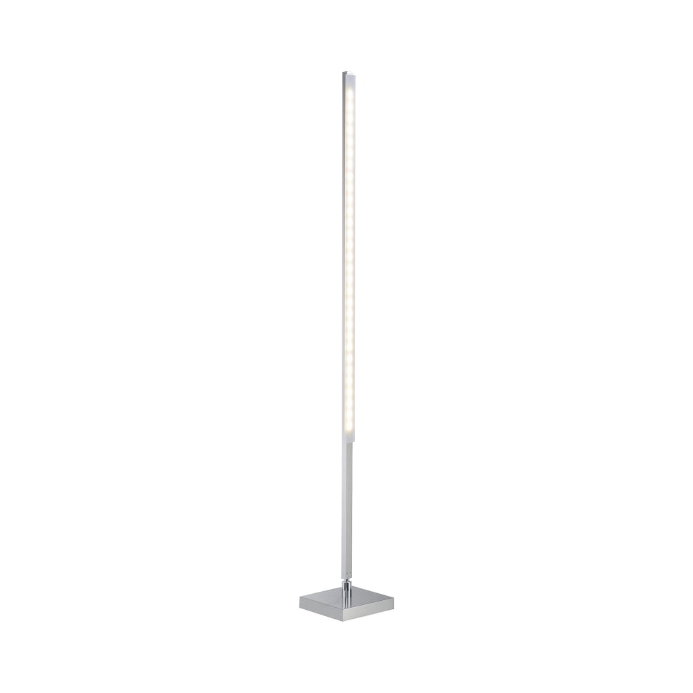Qglido rgb colour changing led floor lamp steel with for Remote control floor lamp for sale