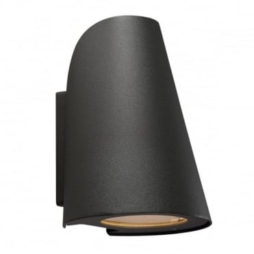 SAIL - Modern Tapered Exterior Wall Light Black