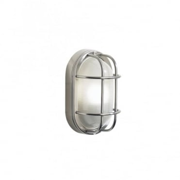 SALCOMBE - Exterior Stainless Steel Garden Wall Light