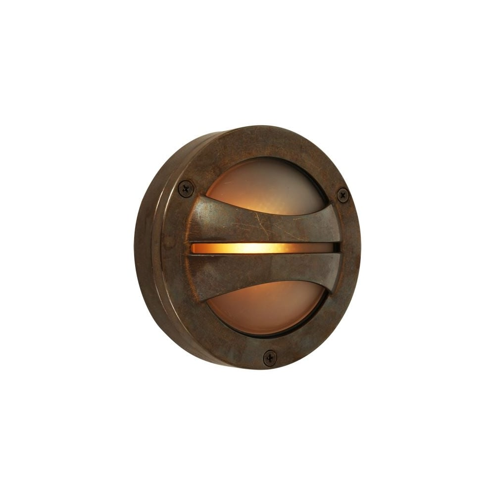 Semi Flush Outside Wall Light Antique Brass Lighting And