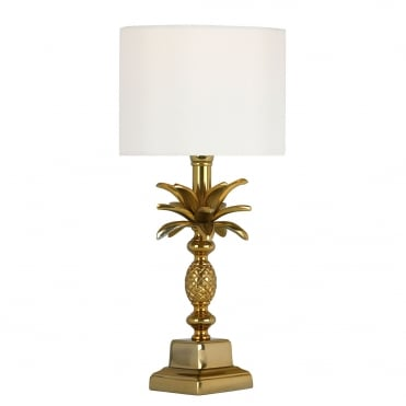 SIBILLA Table Lamp Small Antique Gold Base Only