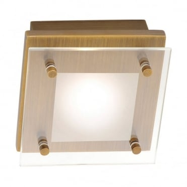 CHIRON - LED Ceiling Light Old Brass