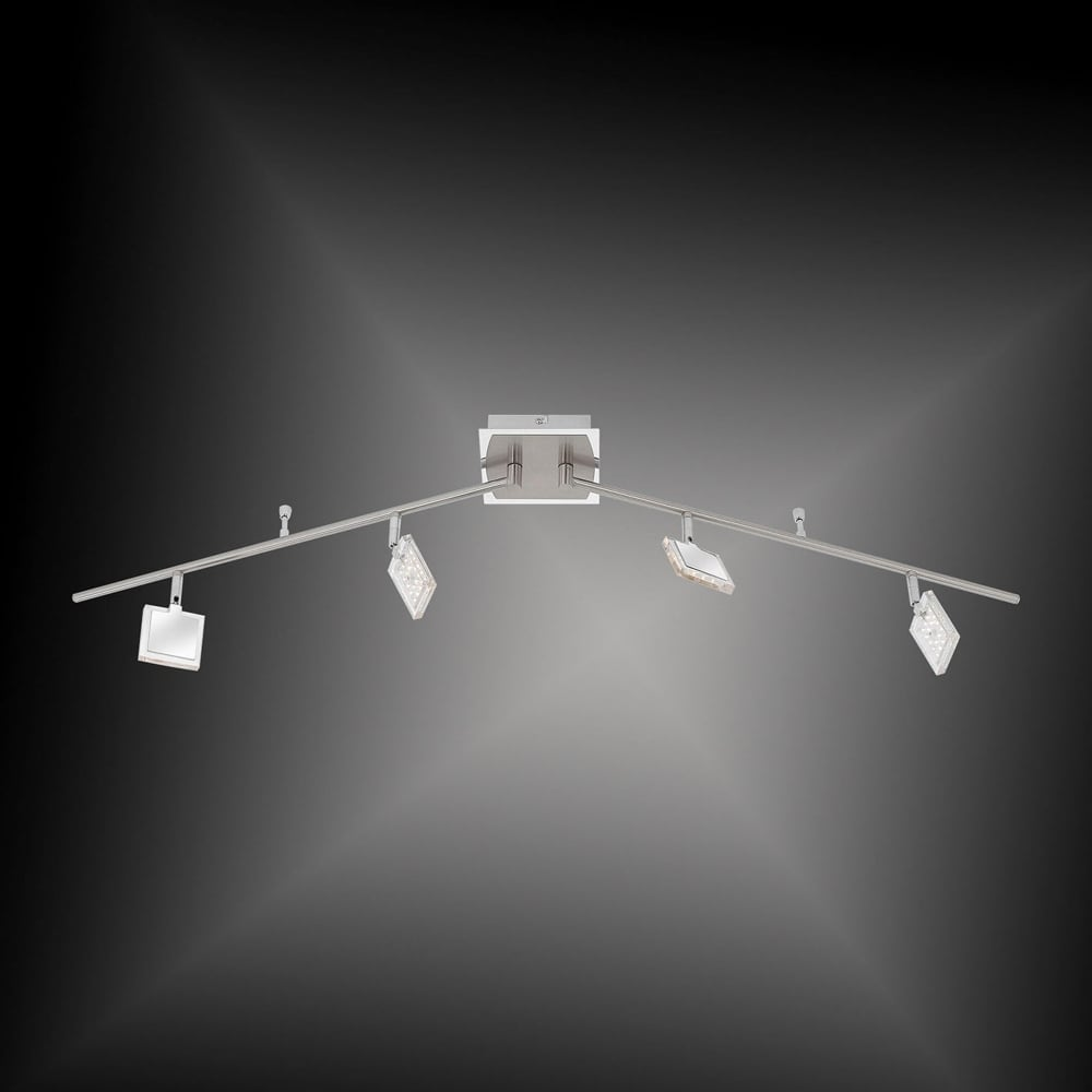 ... Smart Light DAAN-RGB - Colour ChangingDimmable LED Ceiling Light Chrome  ...