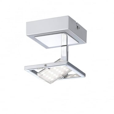 FANTINO - LED Ceiling Light Chrome