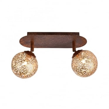 GRETA - Ceiling Light Rust