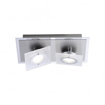 ROTATOR - LED Ceiling Light Aluminium