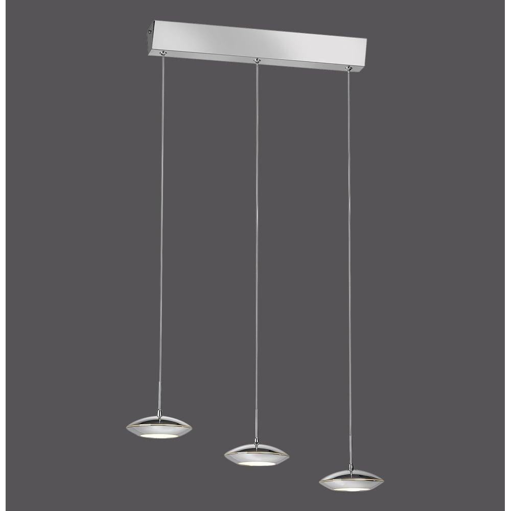 ... Smart Light TEBUTT - LED Pendant Light Chrome ...