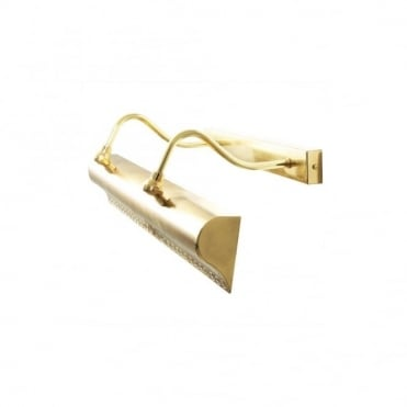 SPENCE - 60Cm Cast Brass Picture Light In Polished Brass