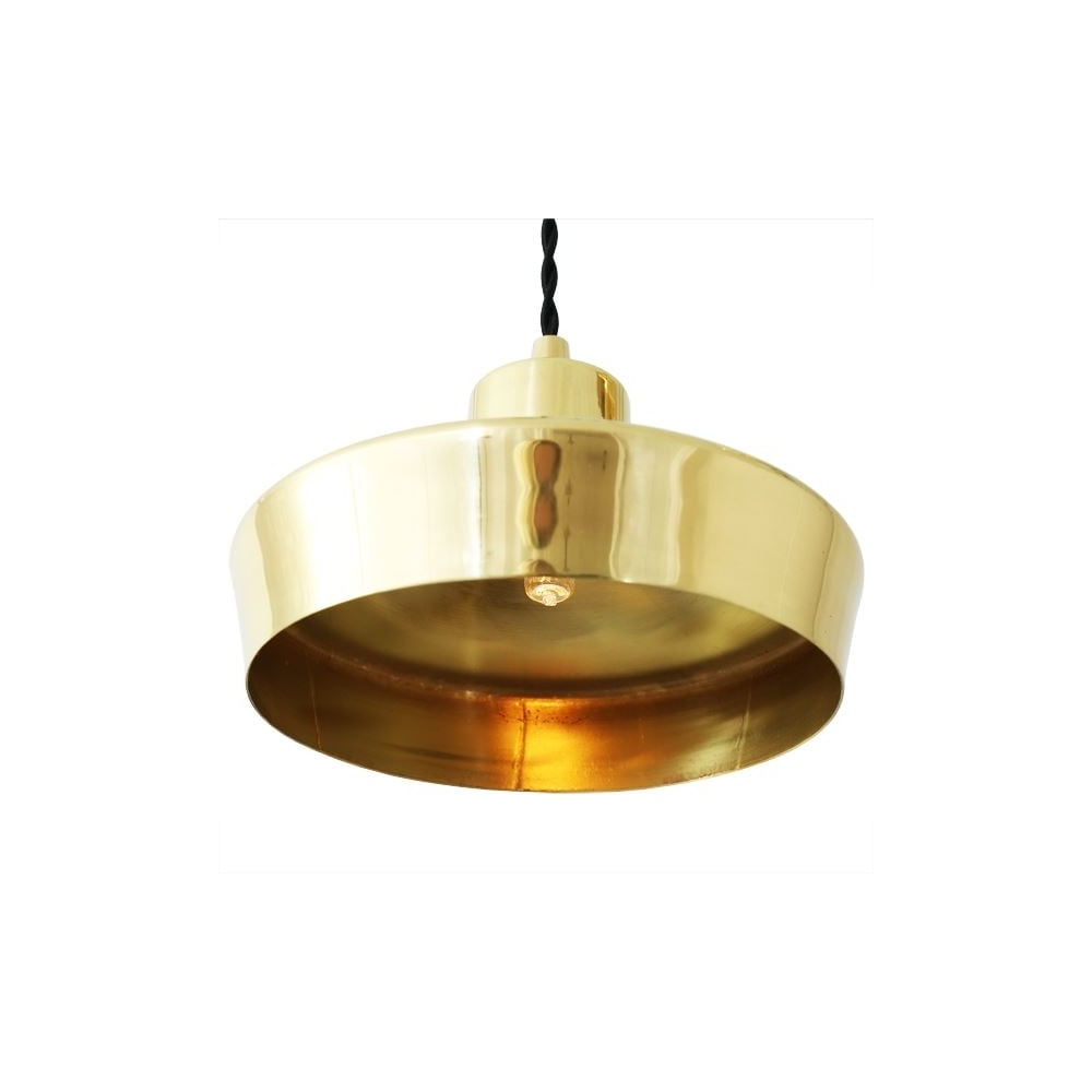 buy popular e3e09 536b9 SPLENDOR - Brass Ceiling Pendant Light In Polished Brass