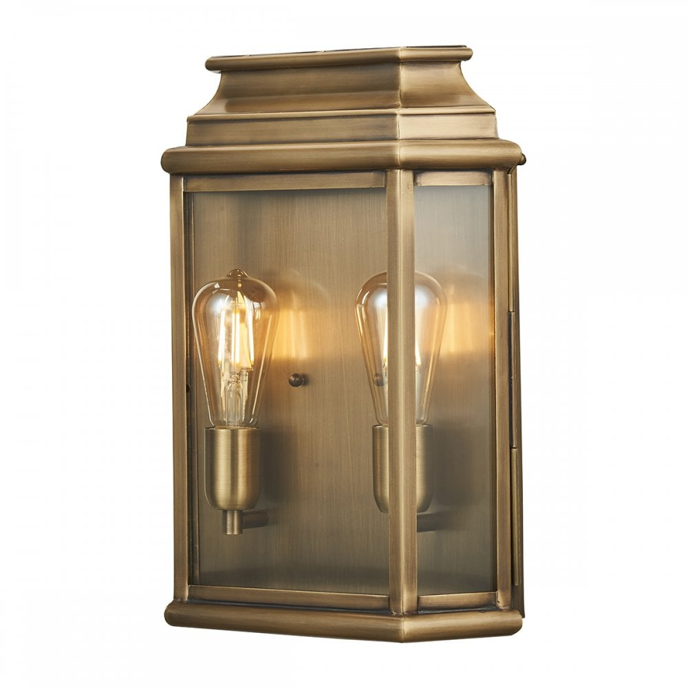 Traditional Out Large Wall Lantern Aged Brass Lighting And Lights Uk