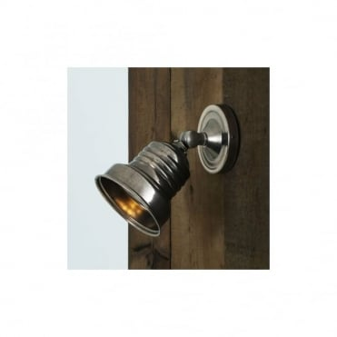 SUCRE - Industrial Spot Light In Antique Silver