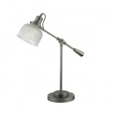 TACK - Table Lamp Industrial Nickel Satin Nickel